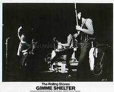 THE ROLLING STONES  GIMME SHELTER 1970 VINTAGE PHOTO ORIGINAL #2