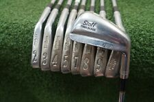 Wilson Staff Tour Blade FG-17 Steel Iron Set Stiff Flex Irons 2-PW 0270599 Used