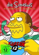 DIE SIMPSONS, Season 12 (4 DVDs) NEU+OVP