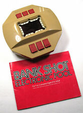 BANK SHOT ELECTRIC POOL GAME FREE SHIPPING