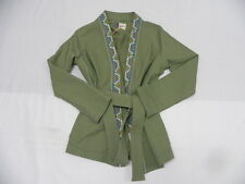 Roxy Meiva Oil Green Jacket Sz Small SERJJK03167