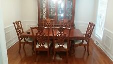 Solid Wood French Provincial Design Formal Dining Room Suite