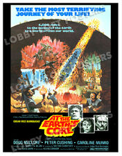 AT THE EARTH'S CORE LOBBY CARD POSTER OS 1976 DOUG McCLURE CAROLINE MUNRO
