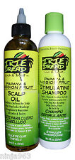 IRIE DREAD LOCK & TWIST PAPAYA & PASSION FRUIT STIMULATING SHAMPOO & SCALP OIL