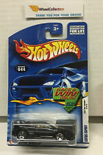 Lotus Esprit #44 w/ 5 SPOKE Rims * BLACK * Hot Wheels 2002 * G54