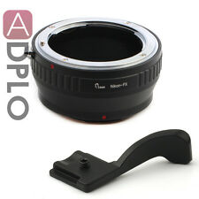 Pixco Nikon F AF AI Lens To Fuji FX X-Pro 1 X-E1 X-M1 Mount Adapter Thumbs Up