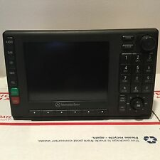 1998-2000 ML320 ML430 MERCEDES-BENZ OEM Radio Cassette Player  LCD Display