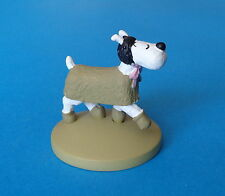 FIGURINE COLLECTION OFFICIELLE TINTIN N°61 MILOU MANTEAU NEUF LIVRET PASSEPORT