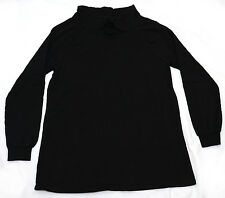 Gap Fit Women Black Long Sleeve Exercise Pullover Top Jumper *Size S