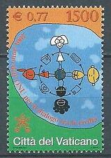 2001 VATICANO ONU DIALOGO TRA LE CIVILTA MNH ** - ED