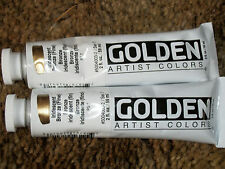 Golden Acrylics 2-ounce 2 tubes Iridescent Bronze