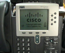 Cisco CP-7961G 7961 IP VoIP Telephone SCCP Phone Voice Lab Phone 1-YR Warra