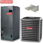 3 ton Goodman 16 seer R410A 2 stage central air system DSXC16036 / AVPTC42D14