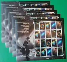 100 (5 Panes / Sheets x 20) American Astronomer EDWIN POWELL HUBBLE 33¢ Stamps