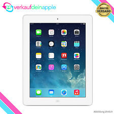 Original Apple iPad 4 Wi-Fi WLAN 16GB Weiß OVP (Entsperrt) Tablet GEBRAUCHT!