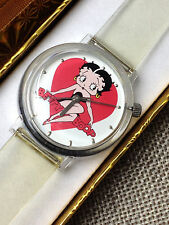 ORIGINAL BETTY BOOP HEART  VALDAWN KFS COLLECTIBLE WATCH  NEW OLD STOCK gift box