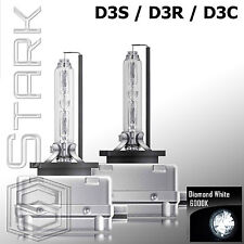 Pair - 6000K D3S D3R D3C HID Xenon Bulbs Replace Factory HID Headlights