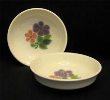 Franciscan FLORAL (USA) Set of 2 Soup Bowls ~ XLNT Pre-Owned Condition
