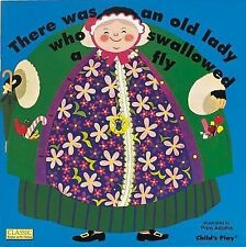 There Was an Old Lady Who Swallowed a Fly (2000, Board Book)