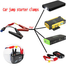 Car Jump Starter Clamps  Emergency Lead Cable Battery Alligator Clips