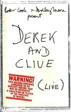 DEREK AND CLIVE (LIVE) by Peter Cook & Dudley Moore ** Sealed Cassette (1976)