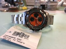 Sector 202 Expander Orange Tiger Strip Dial