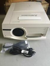 MITSUBISHI XL6600LU XL6600U LCD PROJECTOR, 6000 LUMENS, NEW FACTORY LAMP!