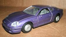 1/40 Aston Martin DB7 Diecast Model - 1998 Aston Martin Coupe Luxury Car Replica
