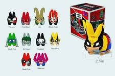"KIDROBOT MARVEL SERIES 1 MINI LABBIT 2.5"" VINYL 20 PCS SEALED CASE FRANK KOZIK"