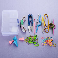 Knitting Tools Crochet Yarn Hook Stitch Accessories Supplies With Case Box Kit