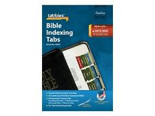 COFFEE HOUSE COLORS 90 BIBLE INDEXING TABS Old & New Testaments Tabbies