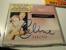 RAR SINGLE CD. CELINE DION. BECAUSE YOU LOVED ME. WITH STICKER