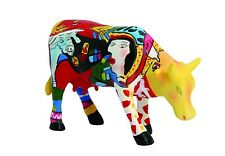 Cow Parade Small Figurine Hommage To Picowso's African Period Collectable Gift