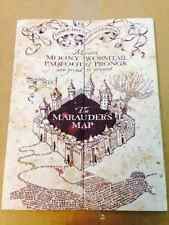 Marauder's Map Hogwarts Wizarding World Harry Potter Warner Bros LIMITED **NEW**