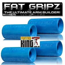 FAT GRIPZ *TWIN PACK* IMPROVE FOREARM STRENGTH FATGRIPZ SPORT FITNESS BAR GRIPS