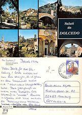 Saluti da Dolcedo - 8 Panorami VIAGGIATA GERMANIA (S-L 231)