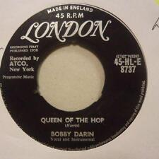 """Bobby Darin(7"""" Vinyl)Queen Of The Hop / Lost Love-London-HLE 8737-UK-19-Ex/Ex"""