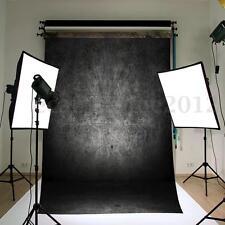 FONDALE STUDIO FOTOGRAFICO SFONDO NERO GRIGIO 3.75*2.4M SCENARIO PROFESSIONALE