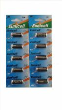 EUNICELL 10 Piles Alcalines LR1 N Lady Eunicell 1,5V E90