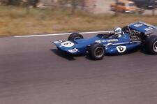 photo 20 par 30 cm francois cevert March Tyrrell  Grand Prix Hollande F1 1970