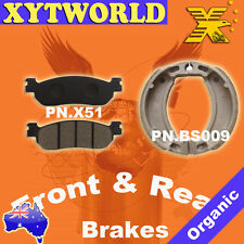 Front Rear Brake Pads Shoes Yamaha RZ50 RZ 50 5FC1/2
