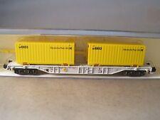 Minitrix  N  13972 Containertragewagen