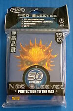 Max Protection - Blue Skull - Neo Trading Card Sleeves - 50 Pack - YuGiOh