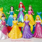 7pcs Disney Princess MagiClip snow white figure play set toy doll