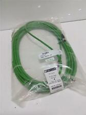 PHOENIX CONTACT 414450 CABLE SAC-5P-M12MSB/15,0-900/M12FSB NIB