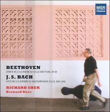 Beethoven: Cello Sonata No.3, Op.69; J.S. Bach: Cello Suite No.2 BWV 1008, New M