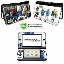 Smurfs Vinyl Skin Sticker for Nintendo 3DS XL