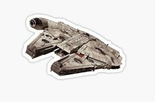 Star Wars Millennium Falcon Han Solo Kessel Run Sticker decal car laptop cute