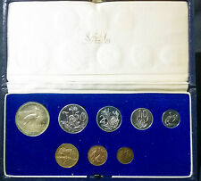 South Africa 1970 Short Proof Set in Mint Box - Excellent - New 1/2 Cent Intro