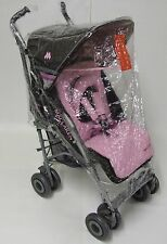 "RAINCOVER RAIN COVER TO FIT ""BABY JOGGER CITY MINI ZIP"" BUGGY PUSHCHAIR STROLLER"